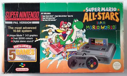 Super Nintendo Super Mario All-Stars (Green) Variant Console SNES
