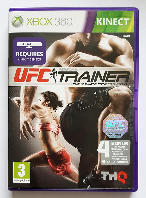UFC Personal Trainer for Microsoft Xbox 360