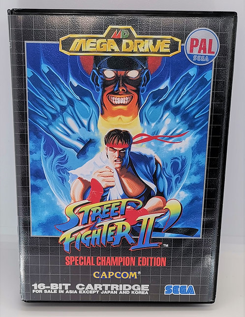 Street Fighter II: Special Champion Edition for Sega Mega Drive