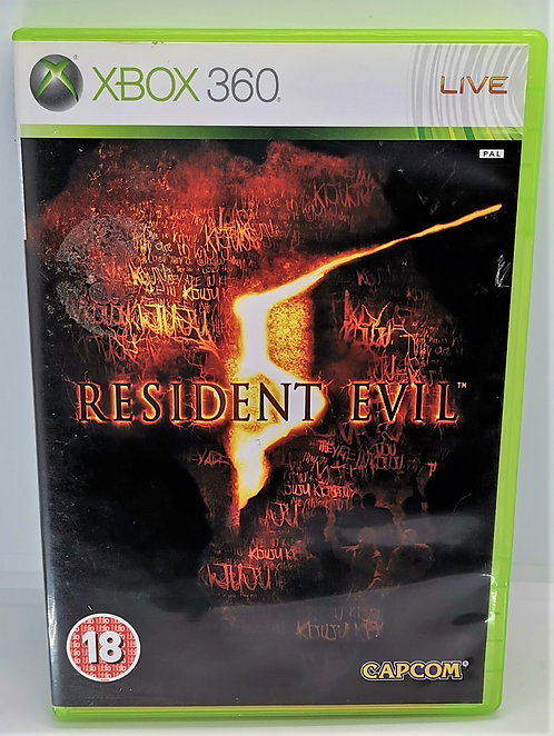 Resident Evil 5 for Microsoft Xbox 360