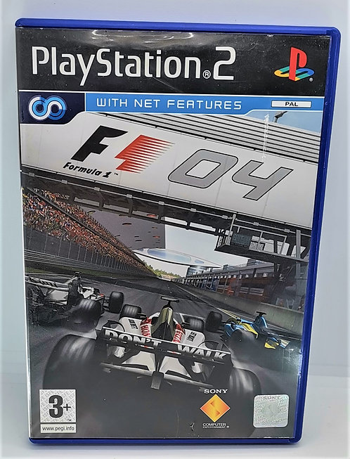 Formula One 04 for Sony PlayStation 2 PS2