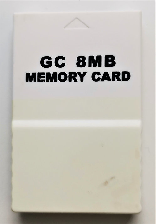 Generic 8MB Memory Card (White) for Nintendo GameCube