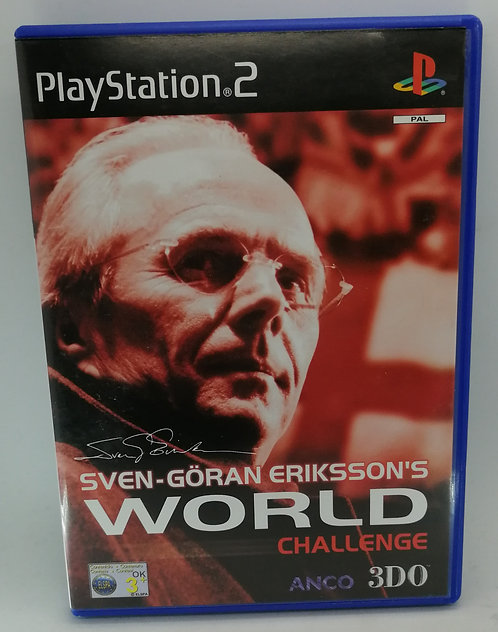 Sven-Goran Eriksson's World Challenge for Sony PlayStation 2 PS2