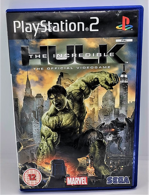 The Incredible Hulk for Sony PlayStation 2 PS2