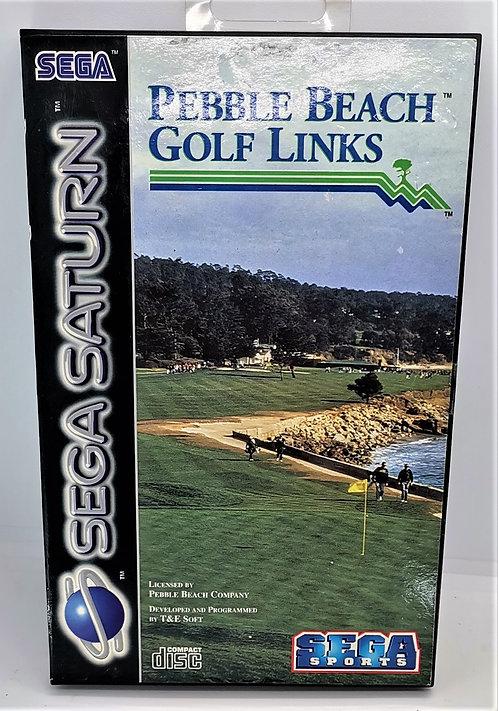 Pebble Beach Golf Links for Sega Saturn