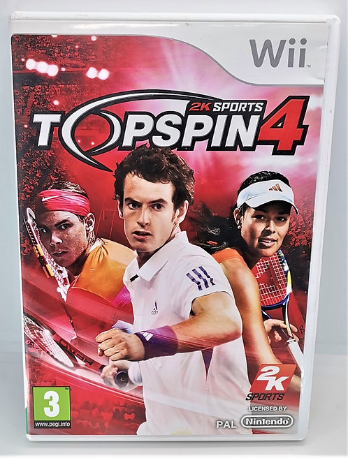 Top Spin 4 for Nintendo Wii