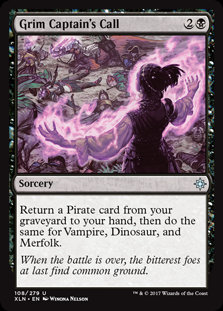 MAGIC THE GATHERING [161] IXALAN Single Card - 108/289 : Grim Captain's Call