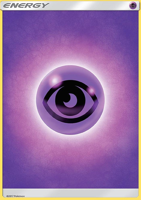 POKEMON Single Card SUN AND MOON - BURNING SHADOWS - Psychic Energy