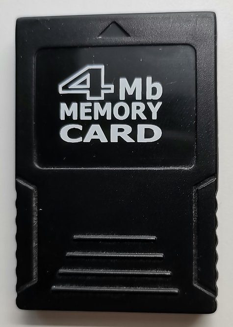 Titan Concepts 4MB Memory Card (Black) for Nintendo GameCube