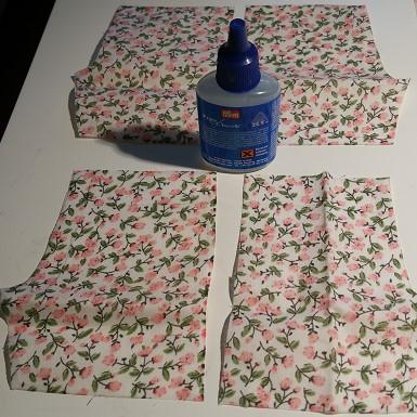 surfilage colle tissu
