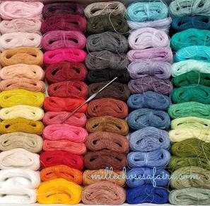une écharpe à un fil... de lin