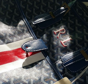 Personnaliser un bagage en cuir (ou en toile )