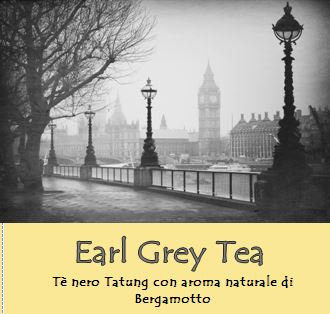 Tè nero earl grey