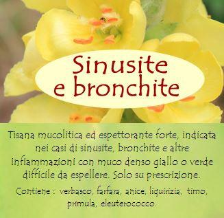 Tisana contro la sinusite e la bronchite