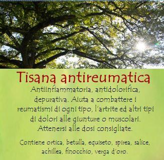 Tisana antireumatica