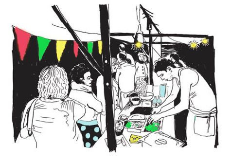 La Cantine du marché, un événement de restauration responsable convivial