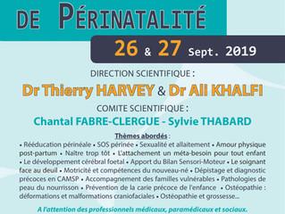 Journées francophones de la périnatalité