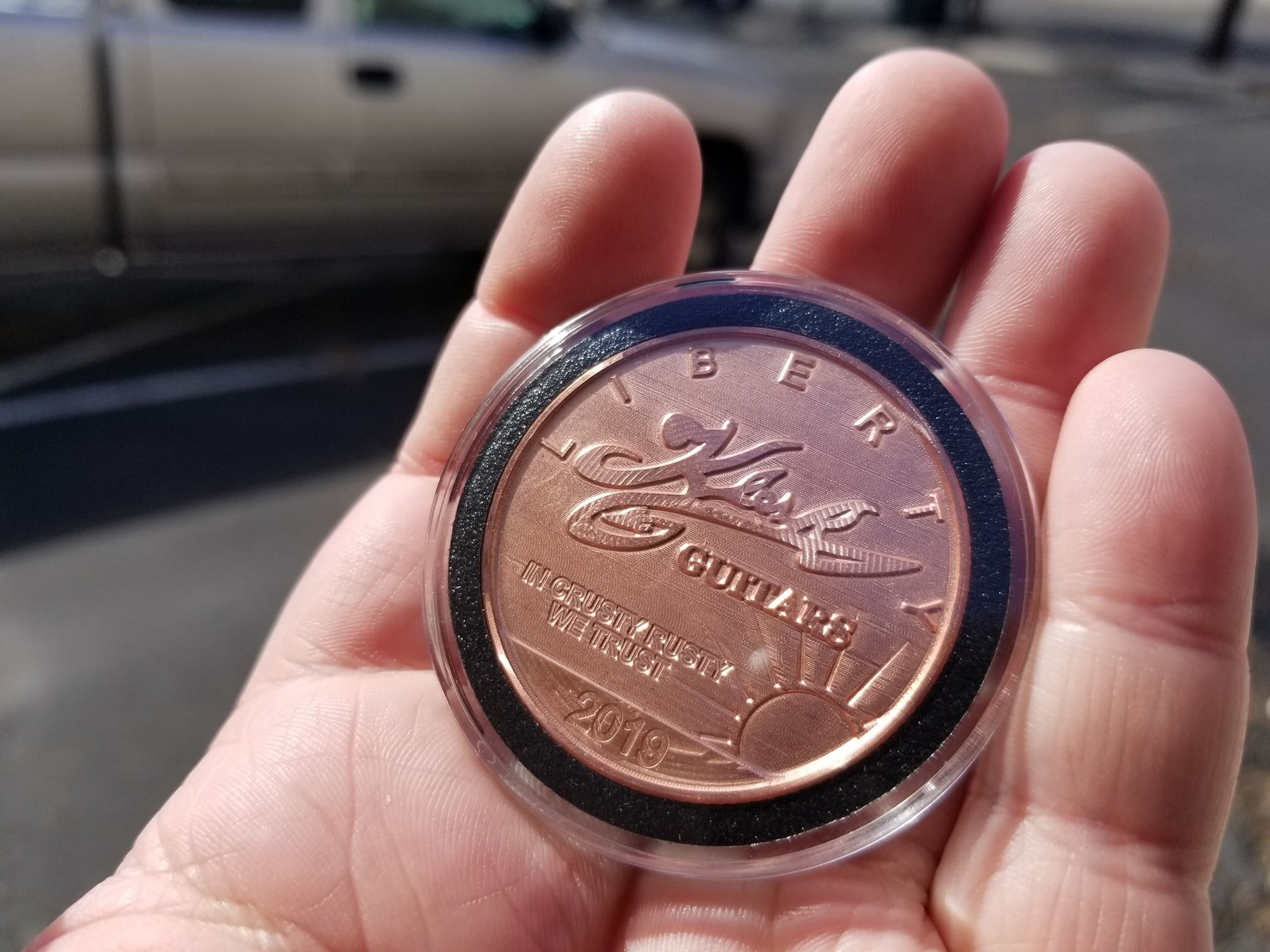 Klesh Guitars 1oz Copper Round