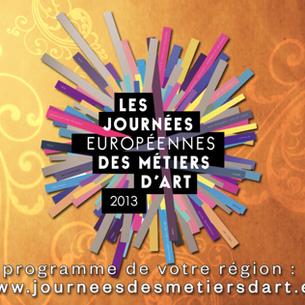 JOURNEES EUROPÉENNES DES MÉTIERS D'ART 2013