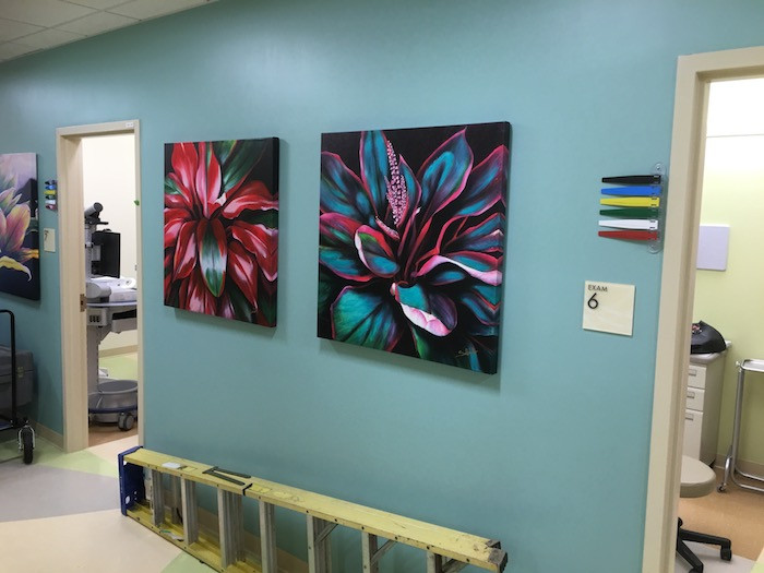 Prints from our Ti Leaf series
