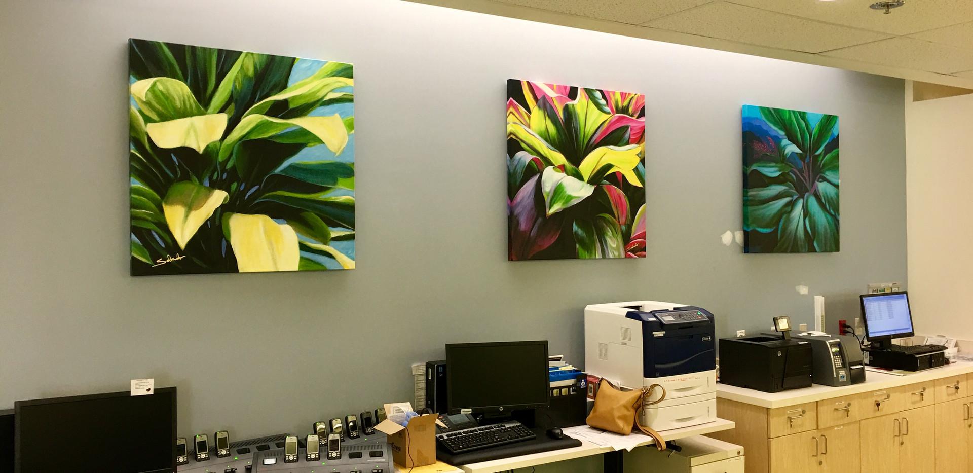 Ti Leaf series prints