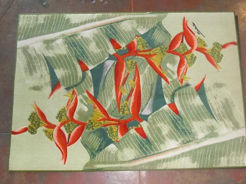 Horizontal Red Hana Heliconia