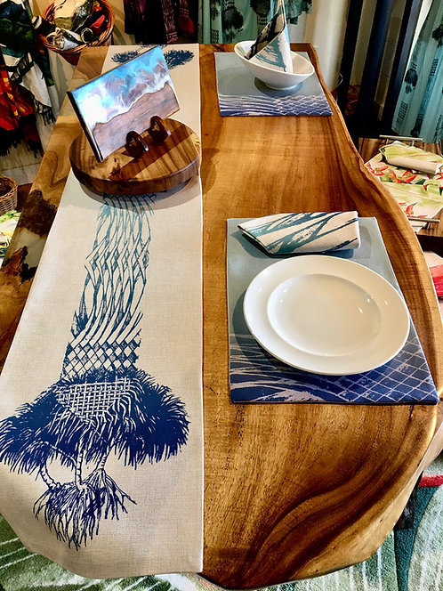 """Lauhala"" Table Runner / Full Set"