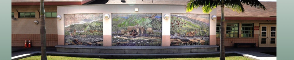 Full view of completed mural
