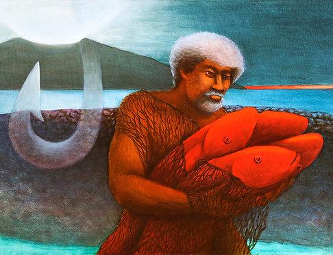Ku'ula (God of Fishing)