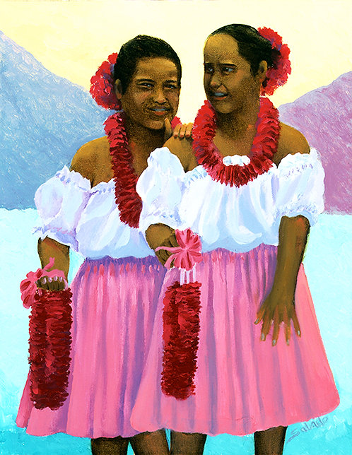 Hula Piko Molokai Dancers