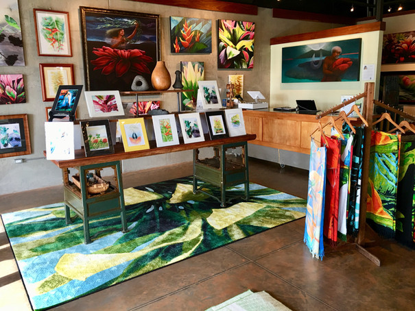 An assortment of art and gifts