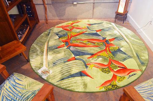 Round Heliconia Carpet