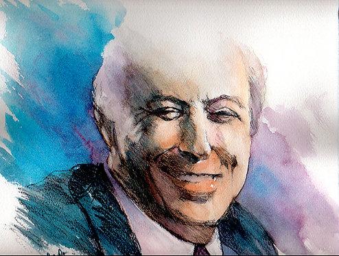 Tony Bennett Portrait