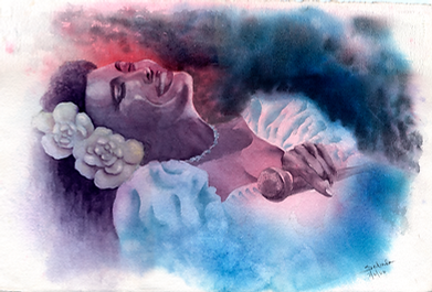 Billie Holiday in Blues