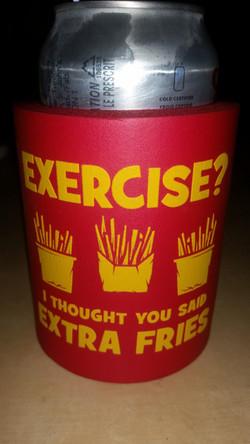 Extra fries!