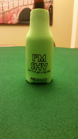 Im Shy Bottle Koozie