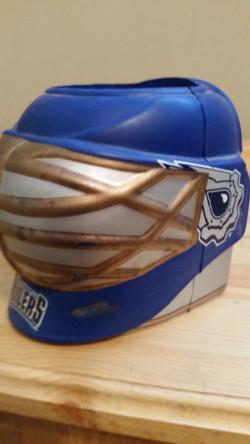 Oilers Goalie Mask Koozie
