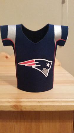 New England Patriots Bottle Koozie