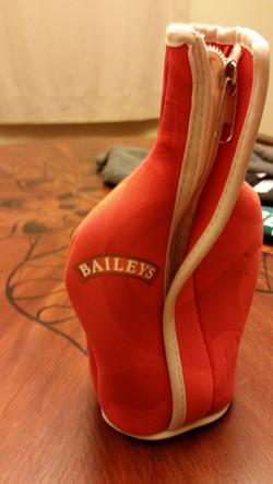 Baileys Bottle koozie