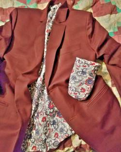 Custom jacket with matching kooz