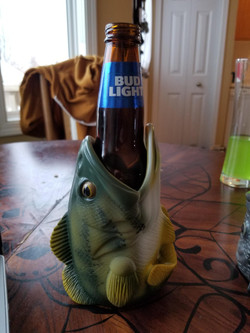 Fish head Bottle Holder