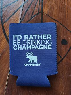 Id rather Be drinking Champane