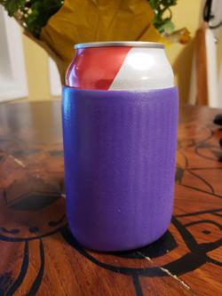 Foldable Purple Rubber