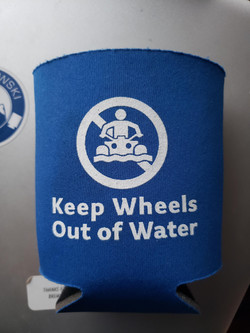 Keep Wheels out of Water