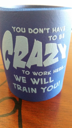 You dont have to be crazy