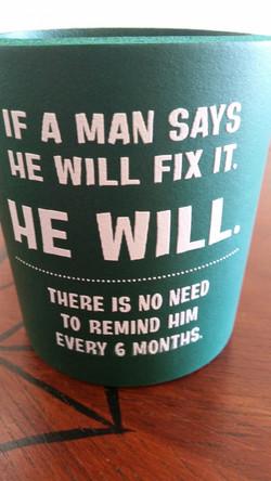Man will fix it