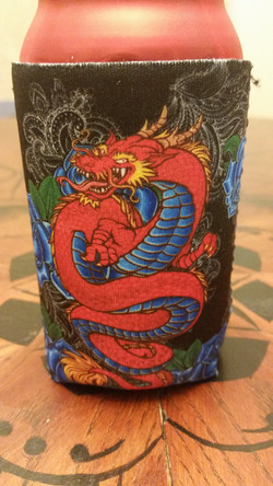 Dragon Can Koozie