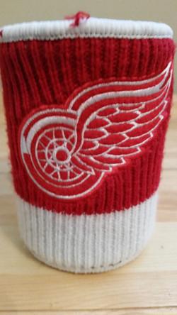Detroit Red Wings Sweater Koozie