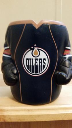 Oilers Home Jersey Koozie