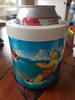 Water Skiing Polar Bear